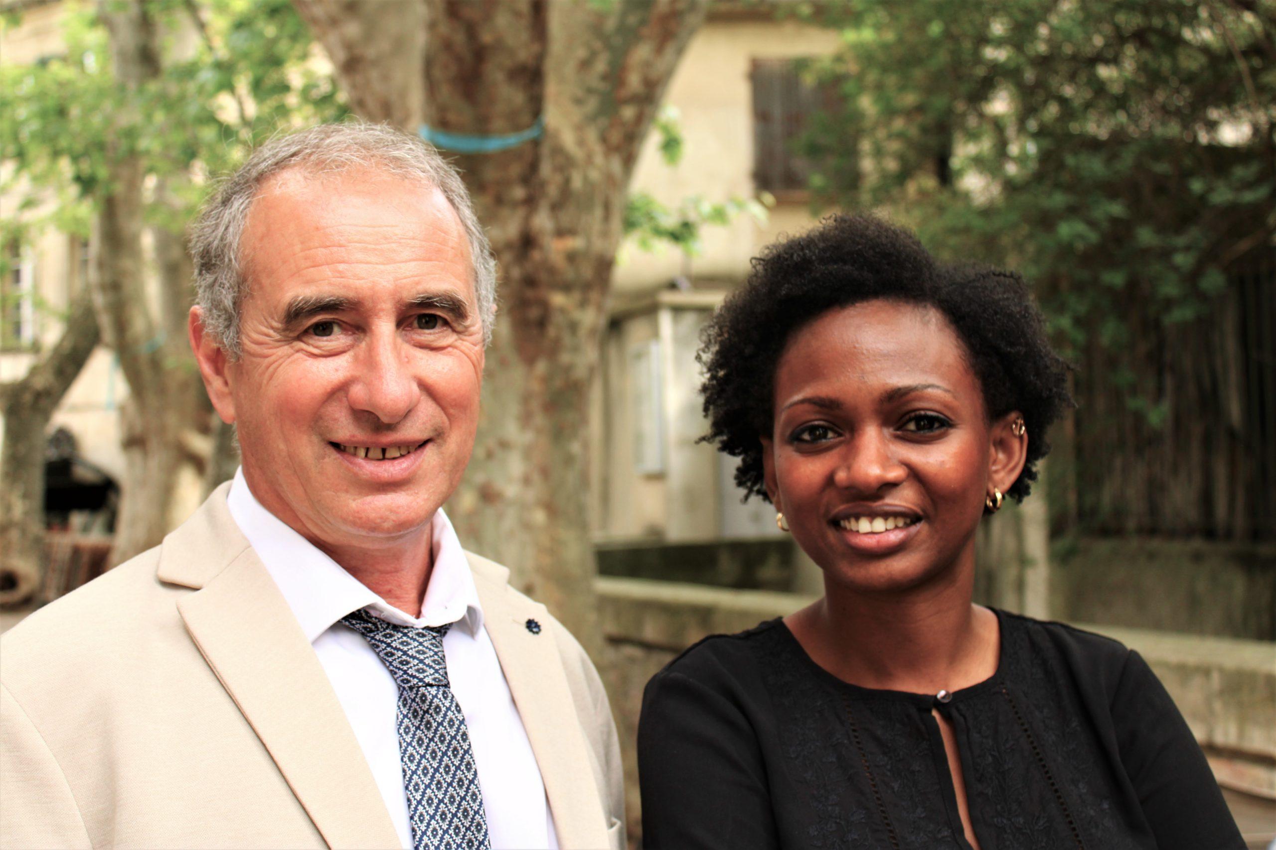 Elections Départementales en Vaucluse 20 et 27 juin 2021. Canton Avignon 2. Ramata BA et Sylvain IORDANOFF
